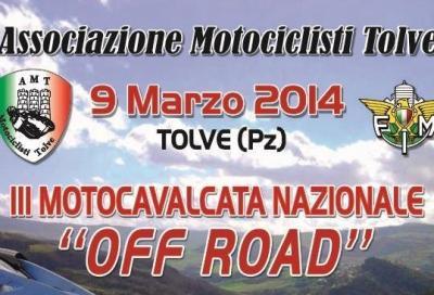 """Terza edizione della """"Motocavalcata Nazionale Off-Road"""""""