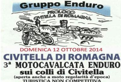 "Motocavalcata ""Sui colli di Civitella"": appuntamento off road il 12/10"