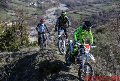 Su per i monti con Beta, KTM e Montesa