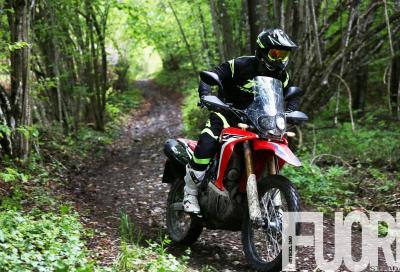 Honda CRF250 Rally 2017: l'avventura per tutti