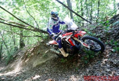 Honda Africa Twin Rally: test, video e foto in azione