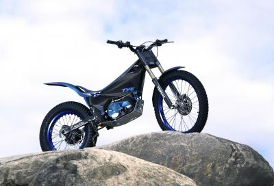 Yamaha presenta la trial elettrica TY-E