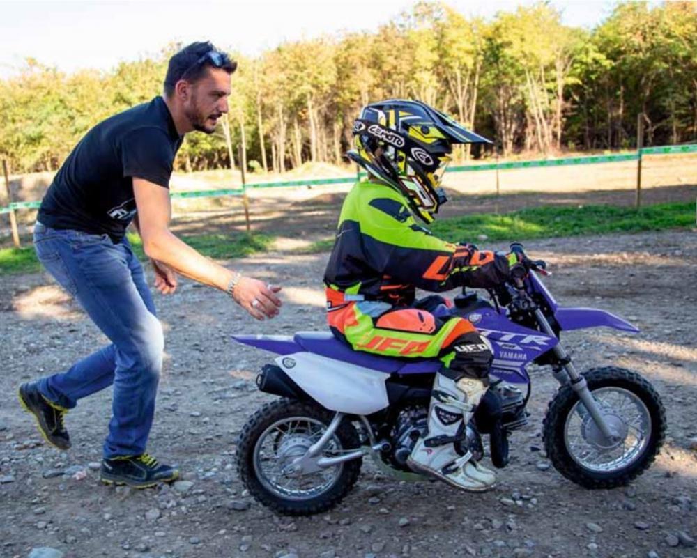Papa Voglio La Moto Motociclismo Fuoristrada