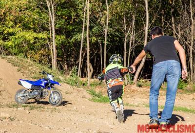 Papà, voglio la moto!