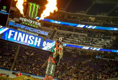 AMA Supercross, Minneapolis: al top Webb e Forkner
