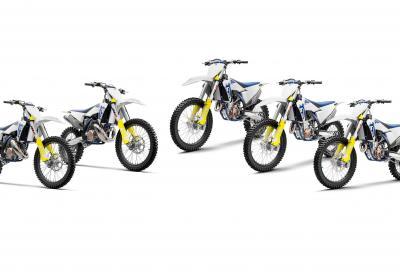 Husqvarna svela la gamma motocross 2020