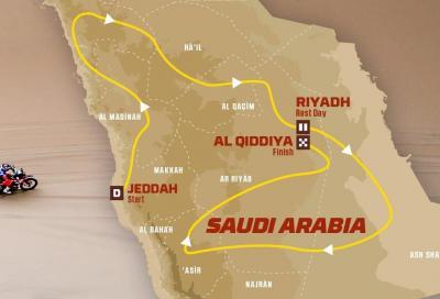Dakar 2020: svelato il percorso in Arabia Saudita