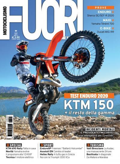 Motociclismo FUORIstrada di luglio 2019 è in edicola