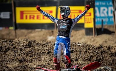 Tim Gajser non vince a Imola, ma è Campione del Mondo