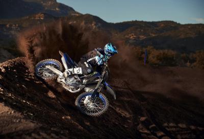La nuova Yamaha YZ250F e le Monster Energy Edition 2021
