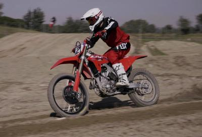 Honda CRF450R 2021: il video test!
