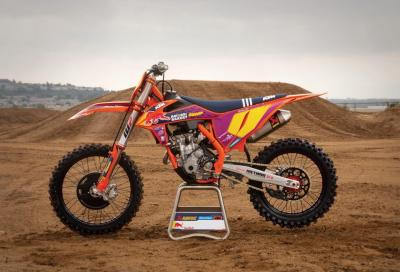 KTM presenta la 250 SX-F Troy Lee Designs 2021