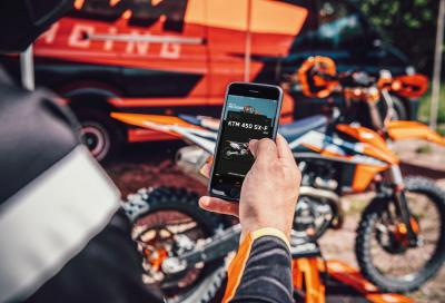 KTM annuncia la disponibilità dell'app per le cross 2021