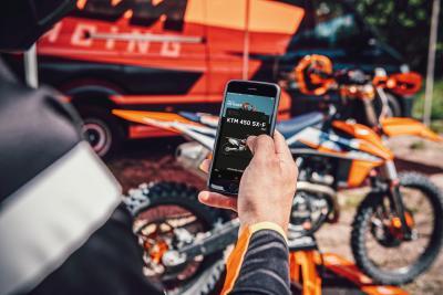 KTM annuncia la disponibilità dell'app per le cross 2021