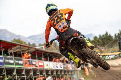 Cairoli vince in Trentino, ma Gajser tiene botta