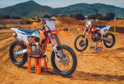 KTM presenta la gamma SX 2022