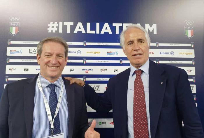 CONI: Giovanni Copioli eletto Membro della Giunta Nazionale