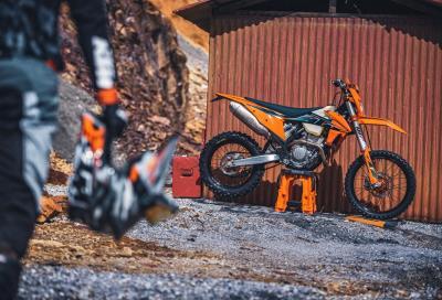 Enduro KTM, svelata la gamma EXC 2022