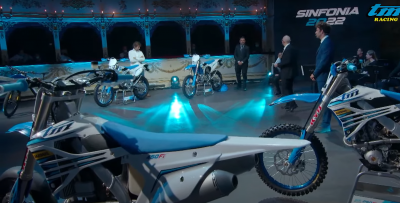 Enduro, cross, motard e e-bike: tutte le TM 2022 in un video