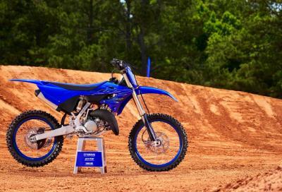 La nuova Yamaha YZ125