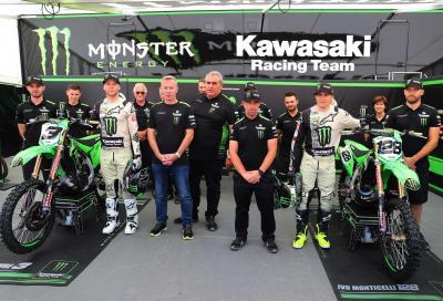 Kawasaki cambia il team factory in MXGP