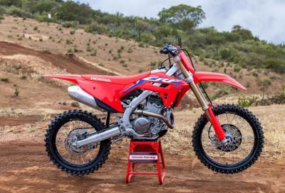 Honda presenta la CRF250R 2022
