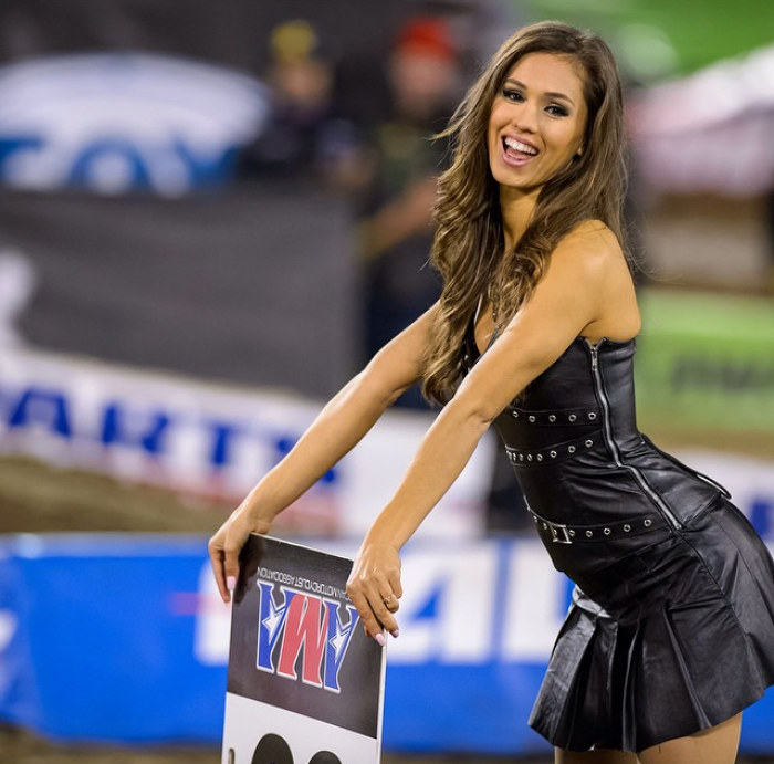Lovely Monster Energy girls at Indianapolis GP - MotoGP
